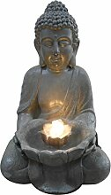 HOMEA 5ftn074Brunnen Buddha Lotus