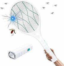 Homealexa Elektrische Fliegenklatsche Moskito