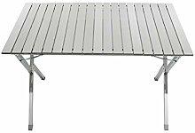 Homecall Camping-Falttisch aus Aluminium mit