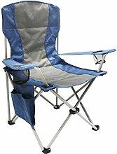 Homecall Camping-Klappstuhl mit Seitentasche -