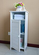 Homecharm Badezimmerschrank/Badezimmer Standregal/Badezimmer Standschrank, HC-010