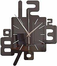HomeClock Acryl Wandaufkleber Wanduhr modern