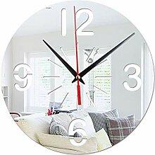 HomeClock Mode rund Acryl Wandaufkleber Uhr