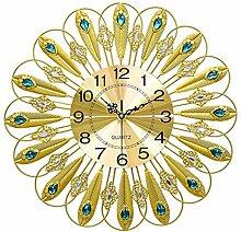 HomeClock Modern Uhr Wohnzimmer Wanduhr Dekoration