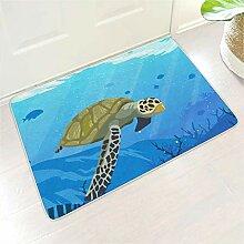 Homedb Blaue Ozean Grüne Schildkröte Druck