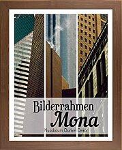 Mona 40,5 x 97 cm Bilderrahmen Homedeco 24 Holzwerkstoff Wahl Farbe Verglasung