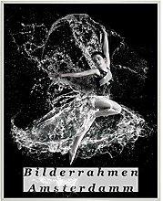 Homedecoration Bilderrahmen Amsterdam Weiß 57x77
