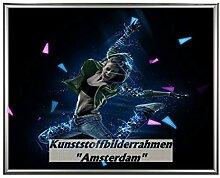 Homedecoration Bilderrahmen Rotterdam Silber 70 x
