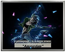 Homedecoration Bilderrahmen Rotterdam Silber 80 x