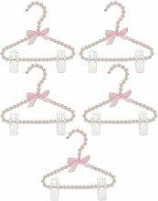HomeDecTime 20 x Kinder Perlen Kleiderbügel