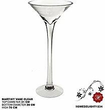 Homedelight Martiniglas-Vase, für Hochzeit,