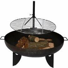 HomeDeLuxe Design Grillrost für Feuerschale, ø 60 cm