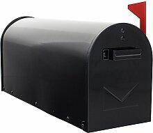 HomeDesign Briefkasten HDM-1300-Schwarz,