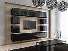 HomeDirectLTD Future 17 Moderne Wohnwand,