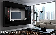 HomeDirectLTD Future 28 Wohnwand Anbauwand Wand