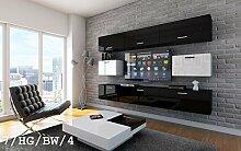 HomeDirectLTD Future 7 Wohnwand Anbauwand Wand