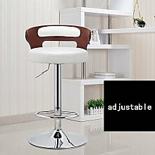 HOMEE Amerikanische Barstühle Retro-europäischen Stil Barstühle Rezeption Mode ist einfach Hochstuhl Sofa Hocker (Farbe optional),2
