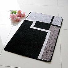 HOMEE Fashionhaped Eingangstürmatten / Bad Antilip Matten / Fußauflage,E,40X60Cm (16X24Inch)