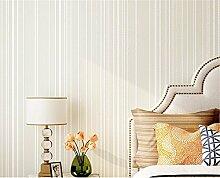 HOMEE Wand décor-einfache moderne Schlafzimmer Wohnzimmer Tapete Vlies vertikale Streifen TV Hintergrund Wandfarbe Aufkleber 0,53 * 10 m,C