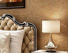 HOMEE Wanddekoration-moderne und einfache einfarbige Seidenvlies-Tapete,D