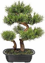Homefinity Künstlicher Bonsai Zeder Baum ca. 40