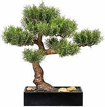 Homefinity Künstlicher Bonsai Zeder Baum ca. 45