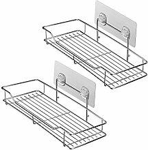 homeideas Traceless selbstklebend Badezimmer Regal