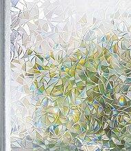 Homein Fensterfolie Milchglasfolie Blickdicht für