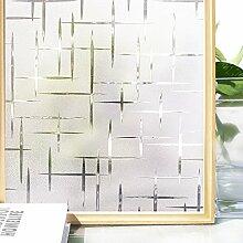 Homein Fensterfolie Sichtschutzfolie Selbstklebend Fenster Sichtschutz Milchglasfolie Blickdicht Dusche Folie Sterne 90 x 200 cm
