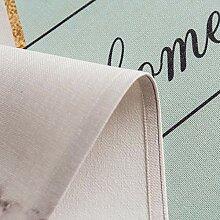 HOMEJYMADE Bestickte Tisch Decken,Leinen