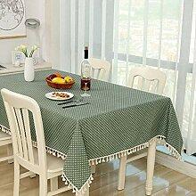 HOMEJYMADE Tassel tischdecke,Tischtuch leinen