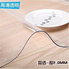 HOMEJYMADE Transparente PVC tischset,Wasserdichte