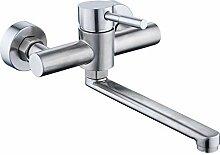 HomeLava 360° Drehbar Wasserhahn Küche Edelstahl