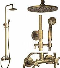 HomeLava Antik Messing Dusche Wasserhahn mit