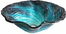 HomeLava Design Gehärtetes Glas Waschbecken Mini