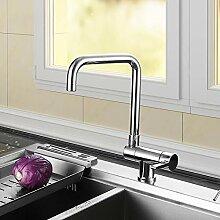 HomeLava Faltbar Vorfenster Küchenarmatur 360°