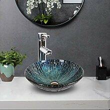 HomeLava Mini Waschbecken Aufsatz Waschschale