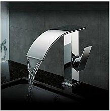Homelava Waschtischarmatur Bad Wasserfall