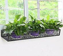 homelikesport Blumenkasten Balkonkasten aus Metall
