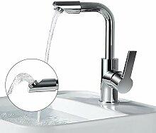 Homelody 360° drehbar Auslauf Wasserhahn Bad