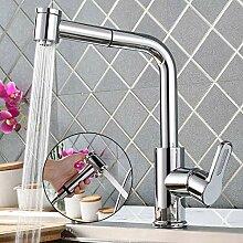 Homelody 360° drehbar Wasserhahn Küche