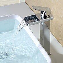 HOMELODY Armatur Wasserfall Design-Waschtisch für