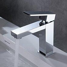 Homelody Bad Wasserhahn Eckig Armatur Waschbecken