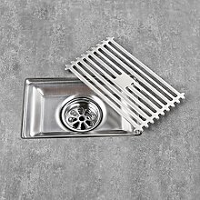 Homelody Bodenablauf Duschablauf 90*150mm SS304 Edelstahl Bodenabfluss Duscharmatur Badarmatur Badablauf Küchenablauf Armatur für Bad und Küche