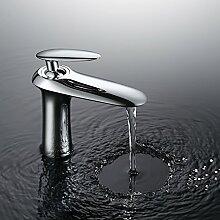 Homelody Chrom Bad Einhebel Armatur Mischbatterie Wasserhahn Waschbecken BadarmaturWaschbeckenarmatur Waschtischarmatur Waschtischmischer