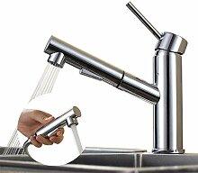 Homelody Chrom Mischbatterie Küche Wasserhahn
