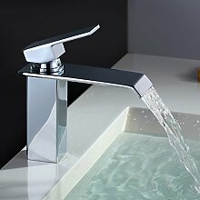 Homelody Chrom Wasserfall Wasserhahn bad