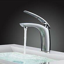 Homelody Chrom Wasserhahn Bad Badarmatur