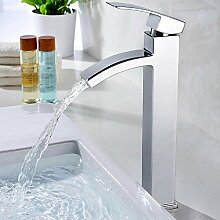 Homelody Chrom Wasserhahn Bad Waschbecken Armatur