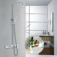 Homelody Duschsystem Regendusche Duscharmatur